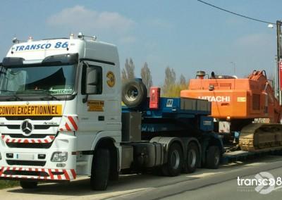Transport btp génie civil Transco
