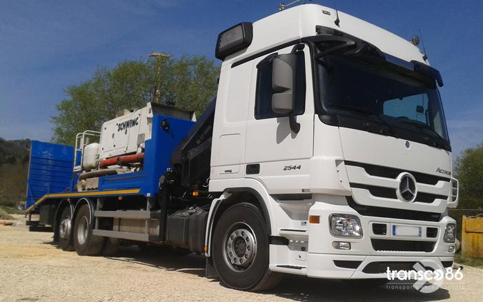 Transport de matériel de forage et accessoires