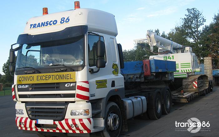 Transport de foreuse Transco