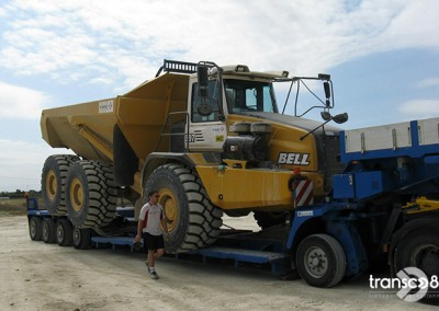 Transport génie civil Transco