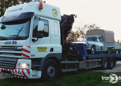 Transport Transco voiture  de collection